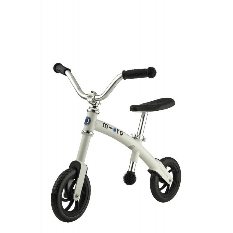 micro scooter g bike laufrad f r 2 5j hrige weiss 148 5. Black Bedroom Furniture Sets. Home Design Ideas