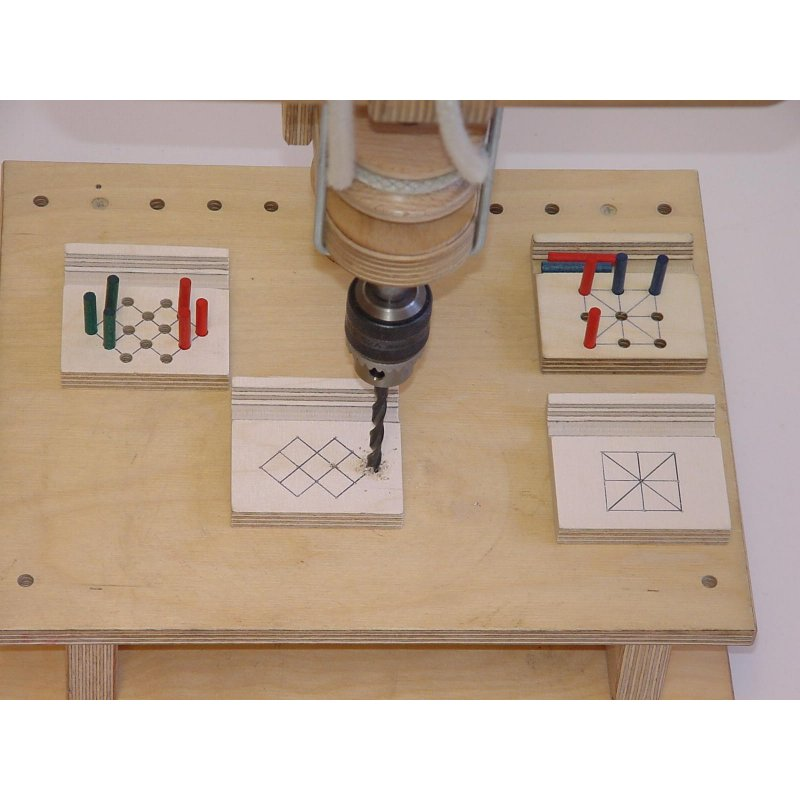 Mühlespiel Anleitung