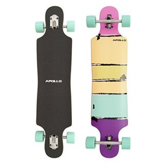 AKTION - Apollo Maui Colour Twin Tip Downhillboard (lila-violett)