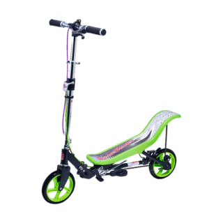 Space Scooter Deluxe Grün